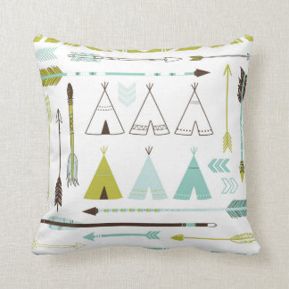 Native Roots Throw Pillow