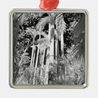 Native Royal Palms in Fakahatchee Strand, Metal Ornament