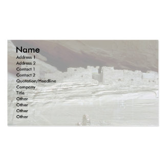 Native ruins, Arizona Double-Sided Standard Business Cards (Pack Of 100)