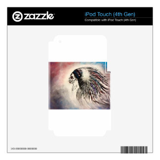 Native Spirit Decals For iPod Touch 4G