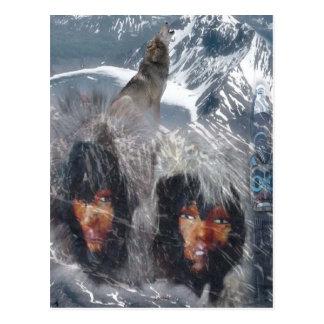 Native Spirit in Alaska Postcard