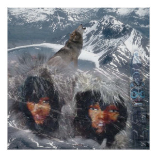 Native Spirit in Alaska Poster