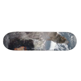 Native Spirit in Alaska Skateboard Deck