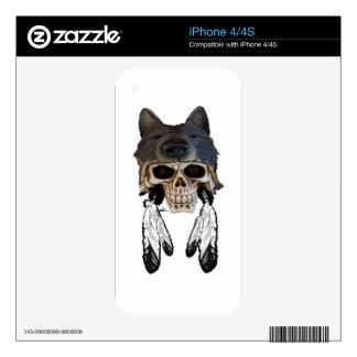 Native Spirit iPhone 4S Skins