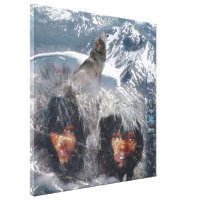 Native Spirit of Alaska Canvas Print