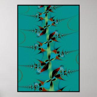 native stalks poster