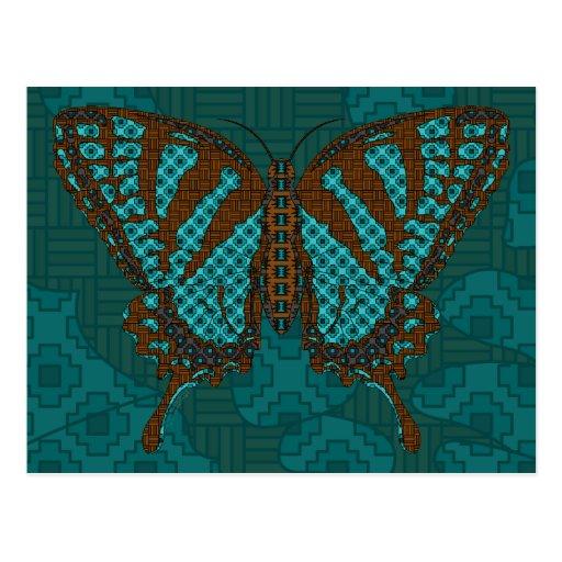 Native Swallowtail Postcard