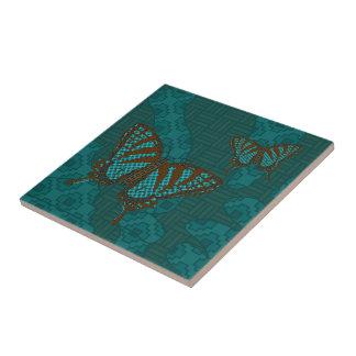 Native Swallowtail Tile
