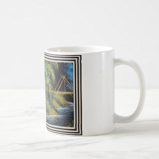 Native tableau on sulks by vishnuh coffee mug