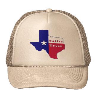 Native Texan Flag Map Mesh Hat