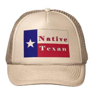 Native Texan Lone Star Flag Hat