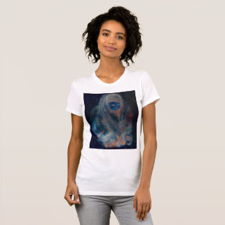 Native Tibetan woman original water color T-Shirt