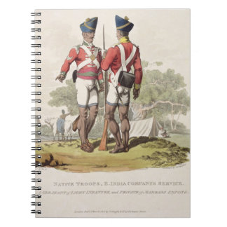 Native Troops in the East India Company's Service: Notebook