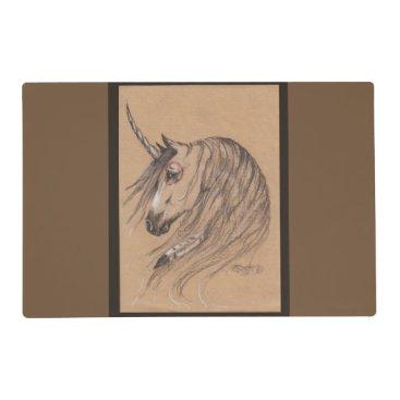 pegacorna Native Unicorn Feather Placemat