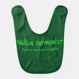 Native Vermonter Baby Bib