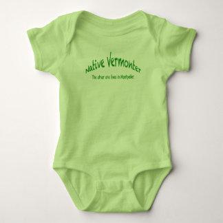 Native Vermonter Baby Jersey Bodysuit