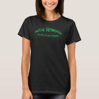 Native Vermonter Women's Basic T-Shirt