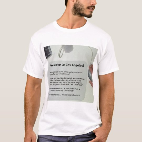 Native View of L.A. T-Shirt