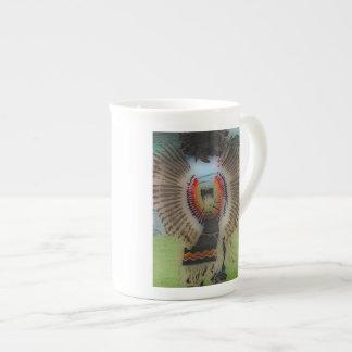 'Native War Wings' Tea Cup