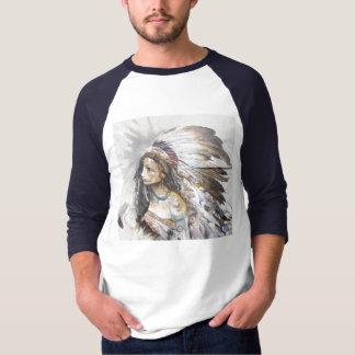 Native Woman Graffiti T-shirt