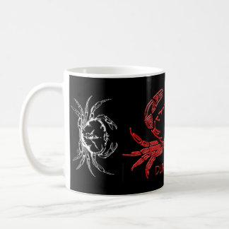Native-word, Crab 3D, Crab 3D black Mug