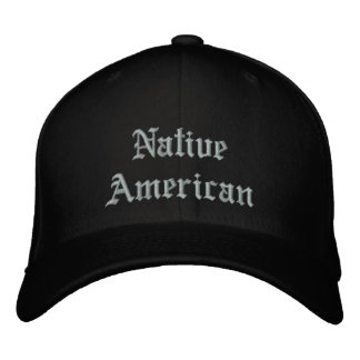 NativeAmerican Embroidered Baseball Hat