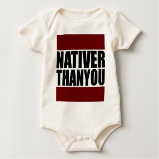 #NativerThanYou Basic Gear Baby Bodysuit
