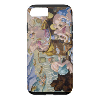 Natives Fishing for Giant Clams on the Indus, plat iPhone 8/7 Case
