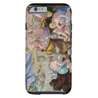 Natives Fishing for Giant Clams on the Indus, plat Tough iPhone 6 Case