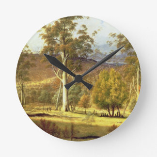 Natives in the Eucalypt Forest on Mills Plains, Pa Round Clock