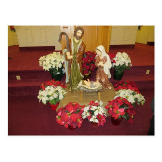 Natividad 1 de la iglesia tarjeta postal