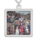 Natividad, c.1425 colgante cuadrado
