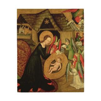 Natividad, c.1425 cuadro de madera