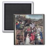 Natividad, c.1425 imán cuadrado
