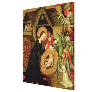 Natividad, c.1425 impresión en lona estirada