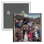 Natividad, c.1425 pin cuadrada 5 cm