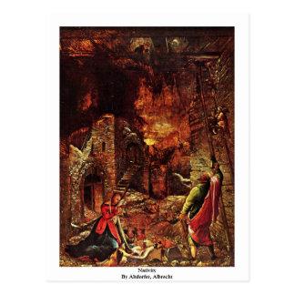 Natividad de Altdorfer, Albrecht Tarjetas Postales