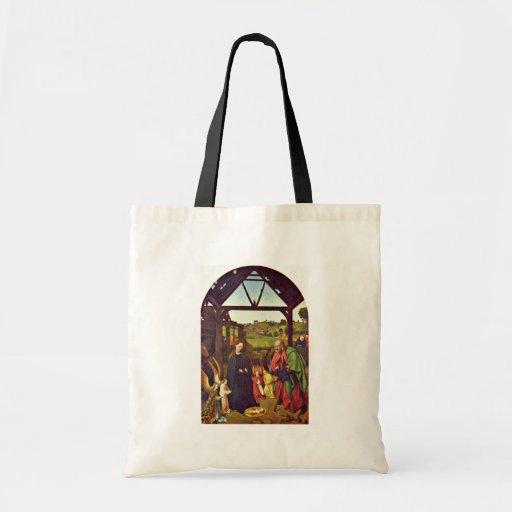 Natividad de Christus Petrus (la mejor calidad) Bolsas De Mano
