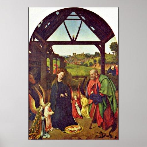 Natividad de Christus Petrus (la mejor calidad) Póster