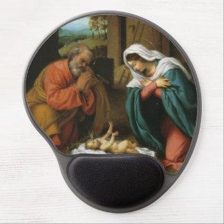 Natividad de Cristo Alfombrilla De Raton Con Gel