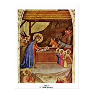 Natividad de Daddi Bernardo Tarjetas Postales