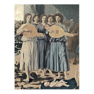 Natividad de Francisca del della de Piero (detalle Tarjetas Postales