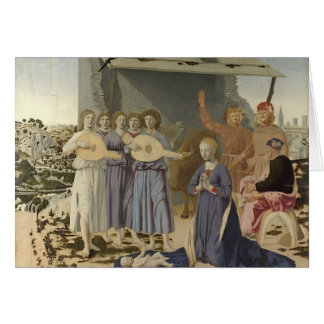 Natividad de Francisca del della de Piero Felicitación