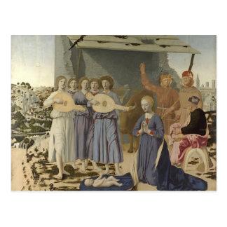 Natividad de Francisca del della de Piero Postal