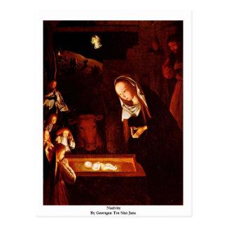 Natividad de Geertgen tot Sint Jans Tarjetas Postales