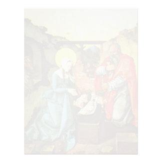 Natividad de Hans Baldung- Plantilla De Membrete