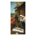Natividad de la loteria de Lorenzo de Cristo Tarjetas Publicitarias A Todo Color