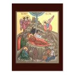 Natividad de la tarjeta del rezo de Cristo Tarjeta Postal