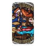 Natividad de la ventana de la capilla de Mehrerau  iPhone 4 Carcasa