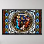 Natividad de la ventana de la capilla de Mehrerau  Posters